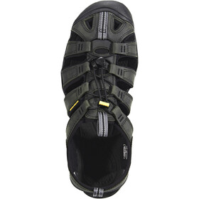 Keen Clearwater CNX Leather Sandaalit Miehet, magnet/black